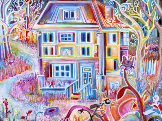 Abandoned House from a Recurring Dream
