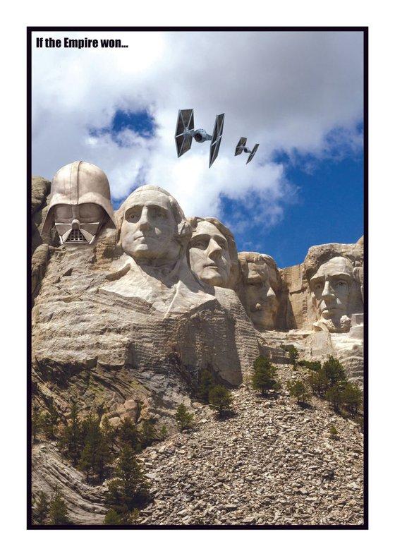 if the empire won... Mt Rushmore