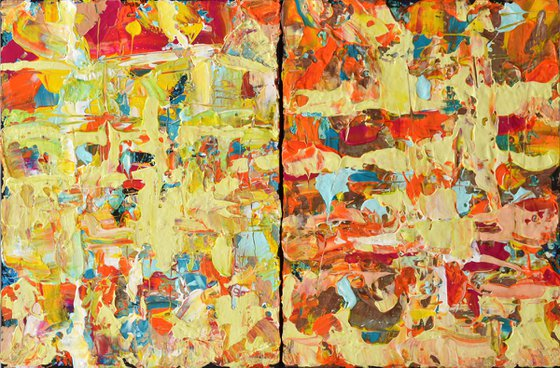 Colours of hope diptych
