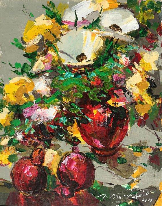 Wild Flowers (40x50 cm)