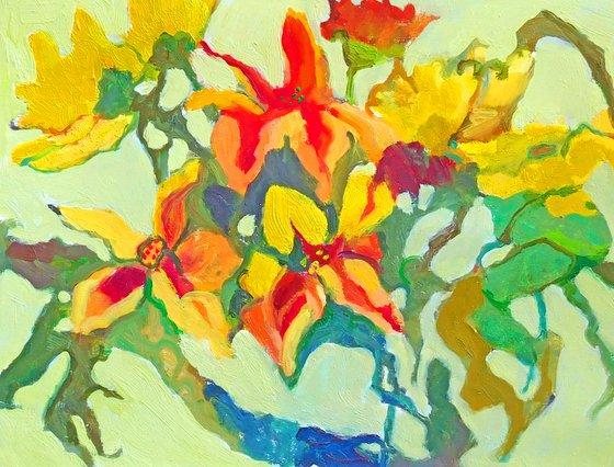 Fall Yellow Russet Red Ochre