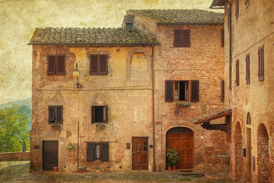 Old town in Tuscany