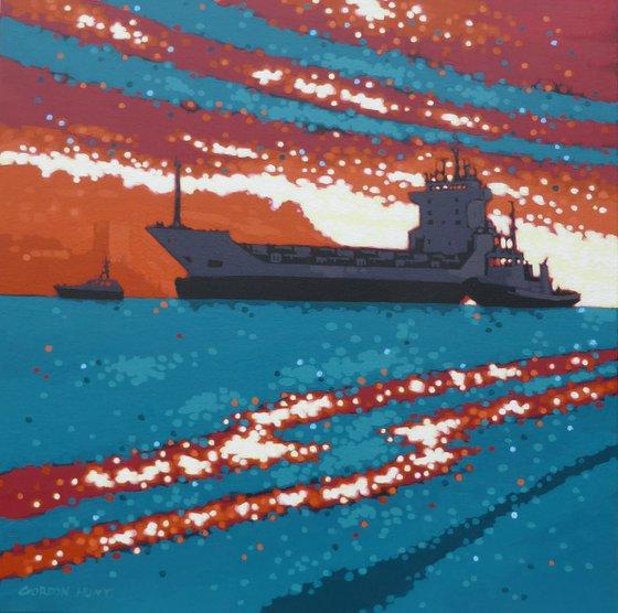 The Tug, the Tanker & the Pilot Boat