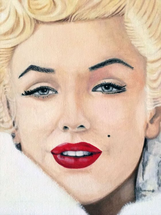 Marilyn in Fur