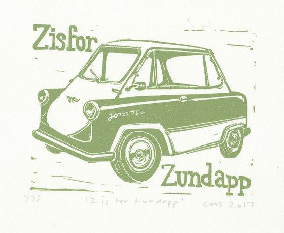 Z is for Zundapp car