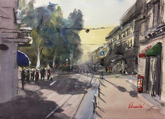 Street atmosphere