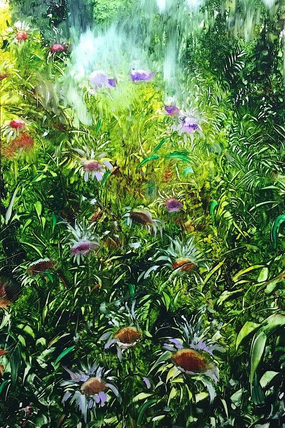 Spring greens 26cm x 36cm x 3mm