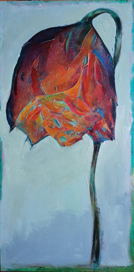 Red Golden Rose