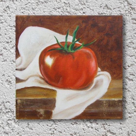 Ripe tomato 20x20cm