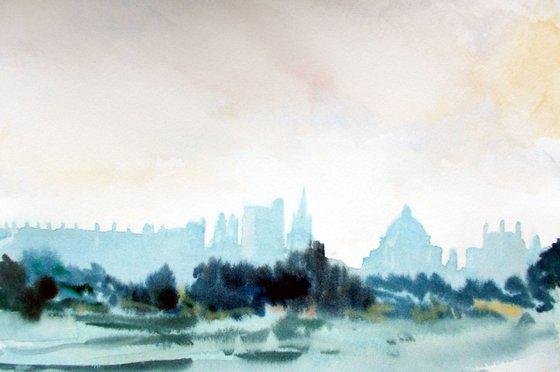 Oxford, Misty Morning