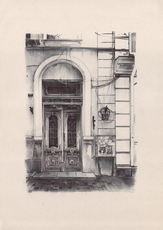 Door in Odessa