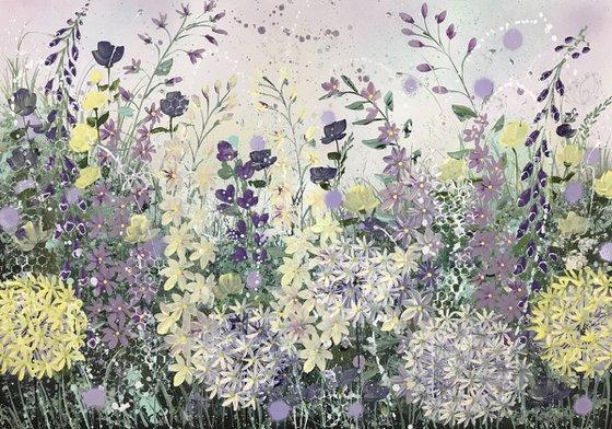 Allium sparkle, on paper