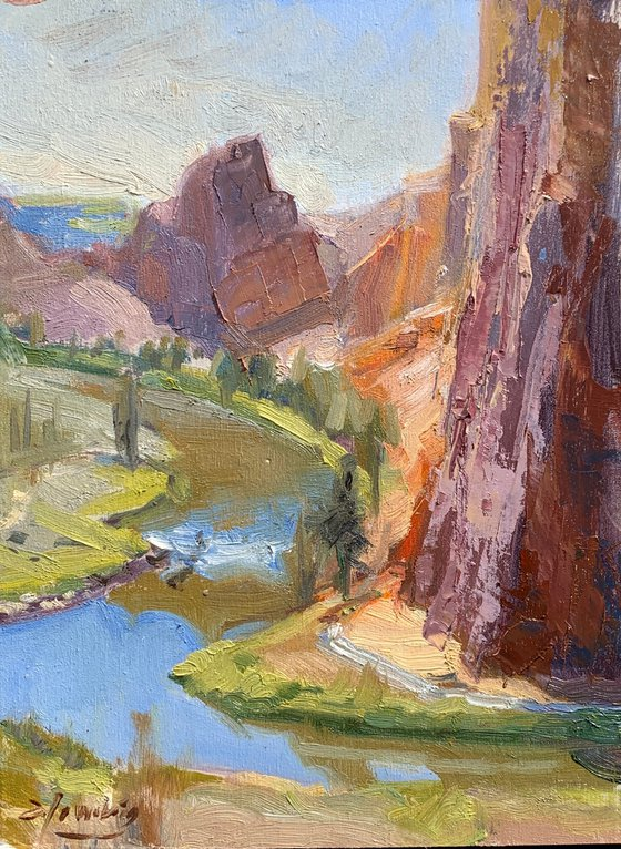 Crooked River Study