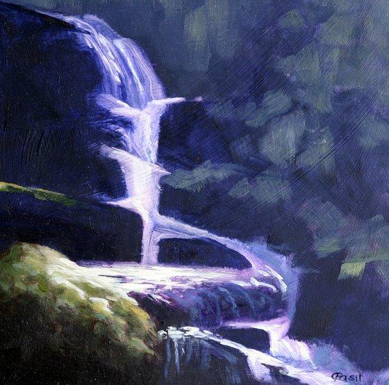 Waterfall at Brendon