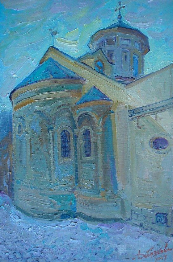 The Armenian temple