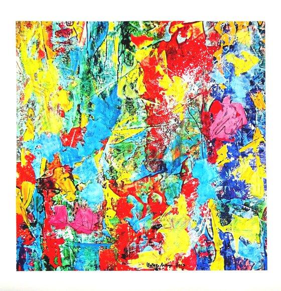 Celebration Of Colours, Series B No. 2