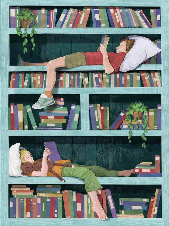 Bookshelf Wonder