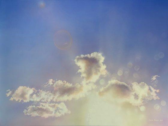The Light So Bright (158 x 114 cm)