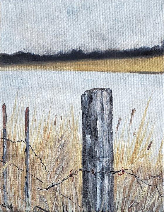 """Broken Wire"" - Landscape"