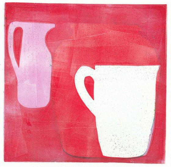 Monoprint - Still life no. 16