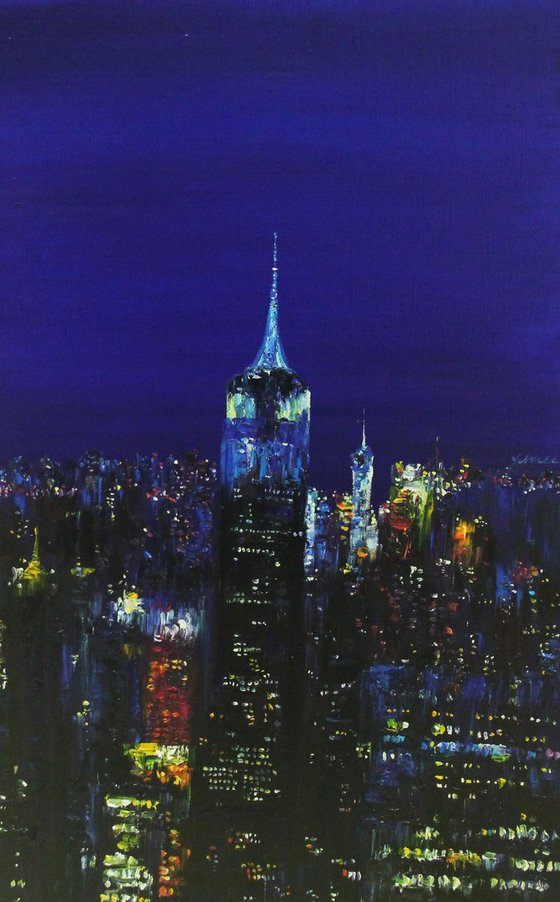 New York - Colored with Light 2