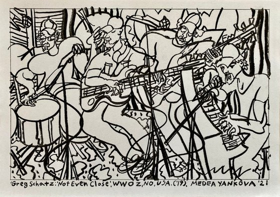 "Greg Schatz- ""Not Even Close"", WWOZ, NO, USA, ('19)"