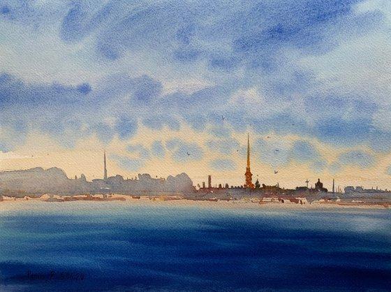 Sky. Summer. St. Petersburg.