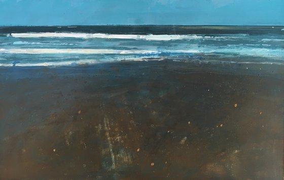 Low tide, Eastbourne