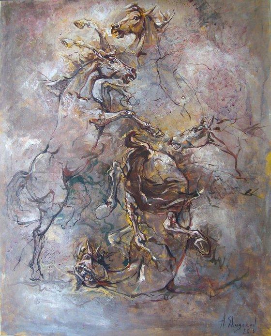 Dance (80x100 cm)