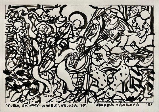 Tuba Skinny- WWOZ, NO, USA, '17