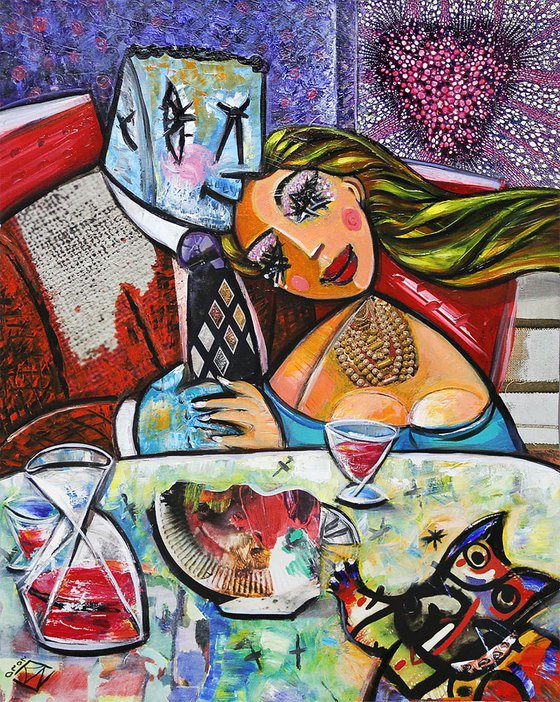 Romantischer Liebesabend