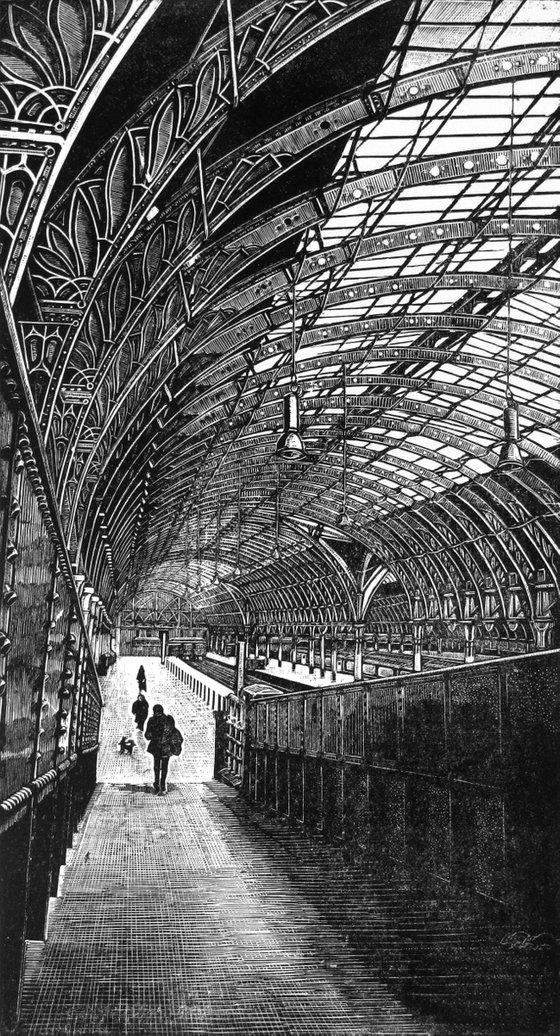 [framed] Paddington Station