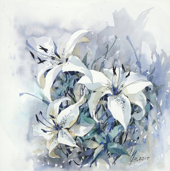 About Blue and White
