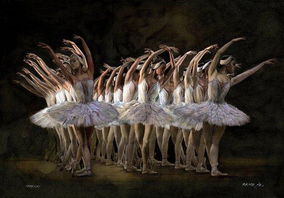 Ballet Dancer CLXXI - Swan Lake