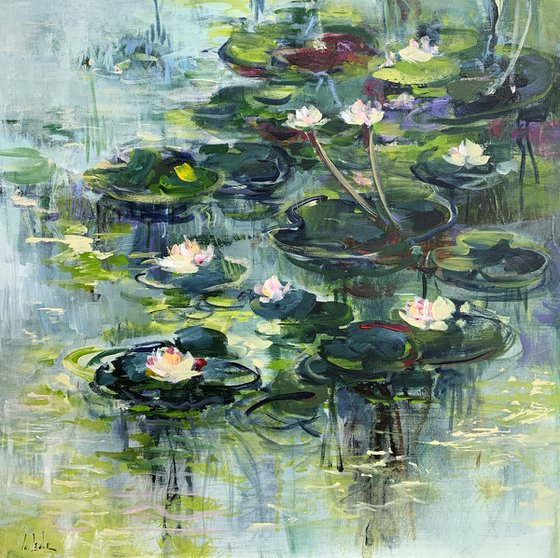 The water lily pond II