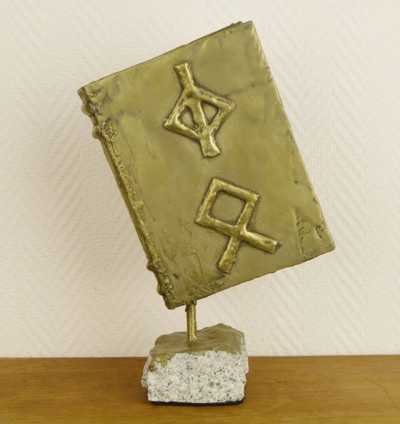 Eternal Rewards, Viking Book with Rune Symbols