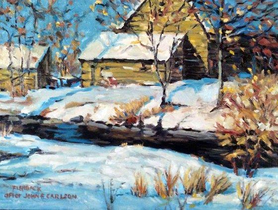 After John F Carlson Cabin