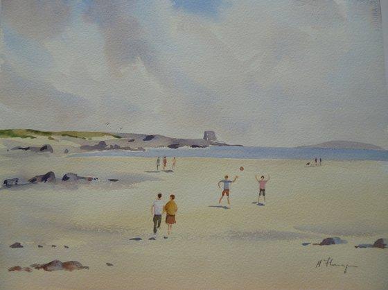 On Portmarnock Beach