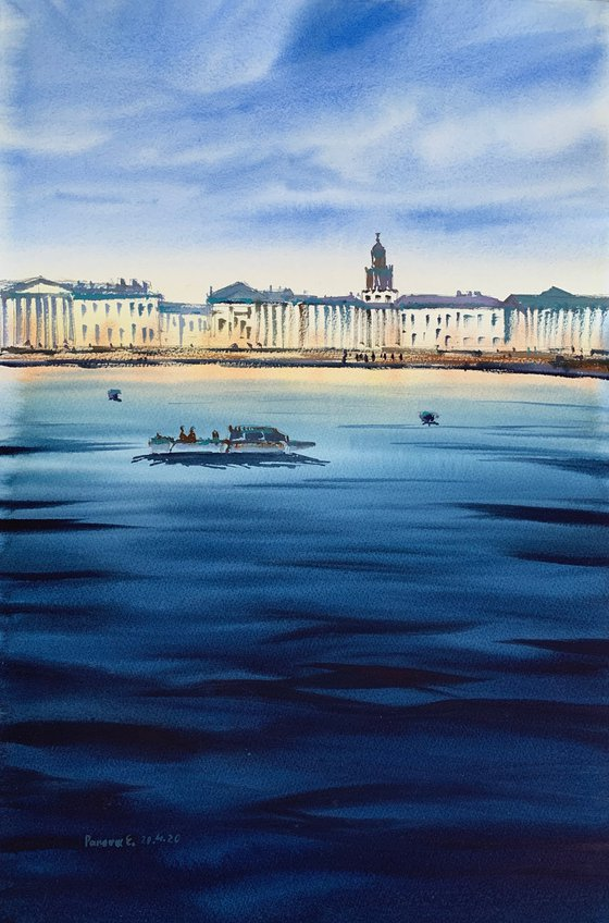 River in  St. Petersburg.