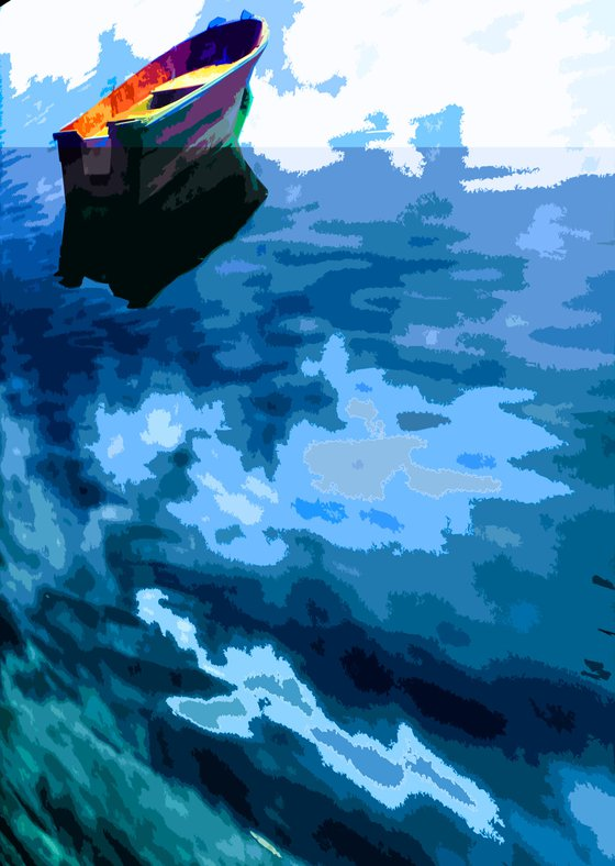 Sky Blue Sea Green