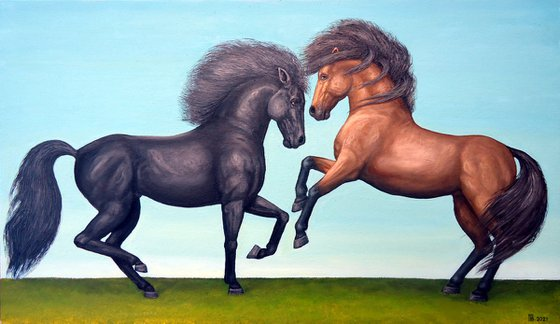 """Windy Stallions"""