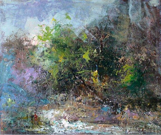 Rain (60x50 cm)