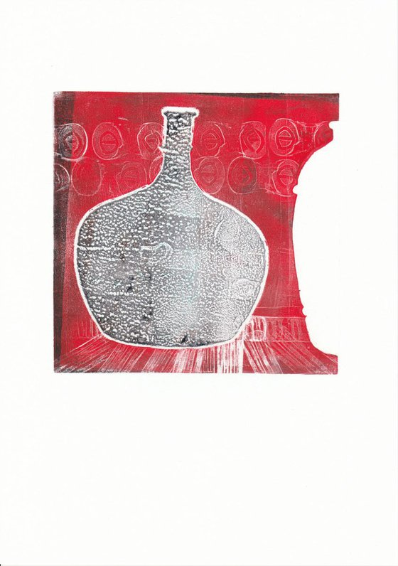 Monoprint - Still life no. 15