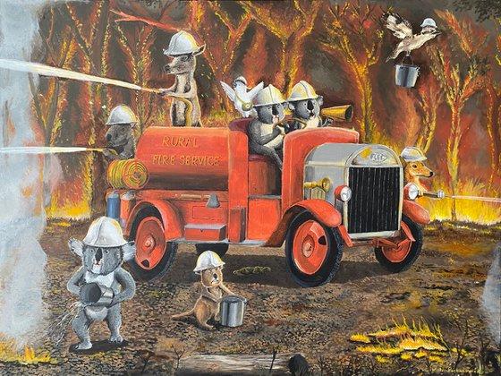 The Aussie Fire Truck