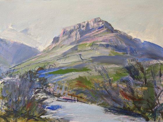 Eagle Crag from Stonethwaite