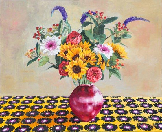 Flowers in Vase 3