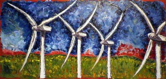 Fearful Symmetries, 4 turbines