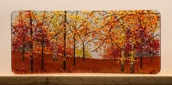 Glass Autumn Half Curve (Made to Order)