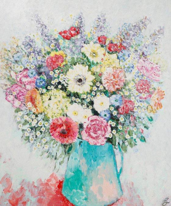 Brilliant Bright (130 x 160 cm)