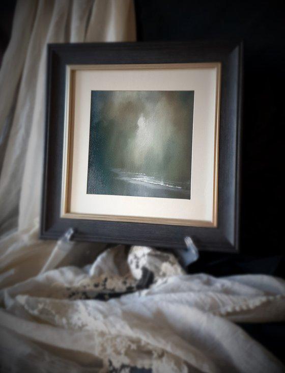 Moonstone Series - Benbecula, abstract seascape